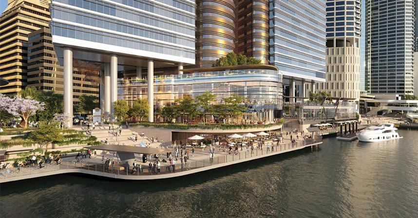 Brisbane Waterfront development
